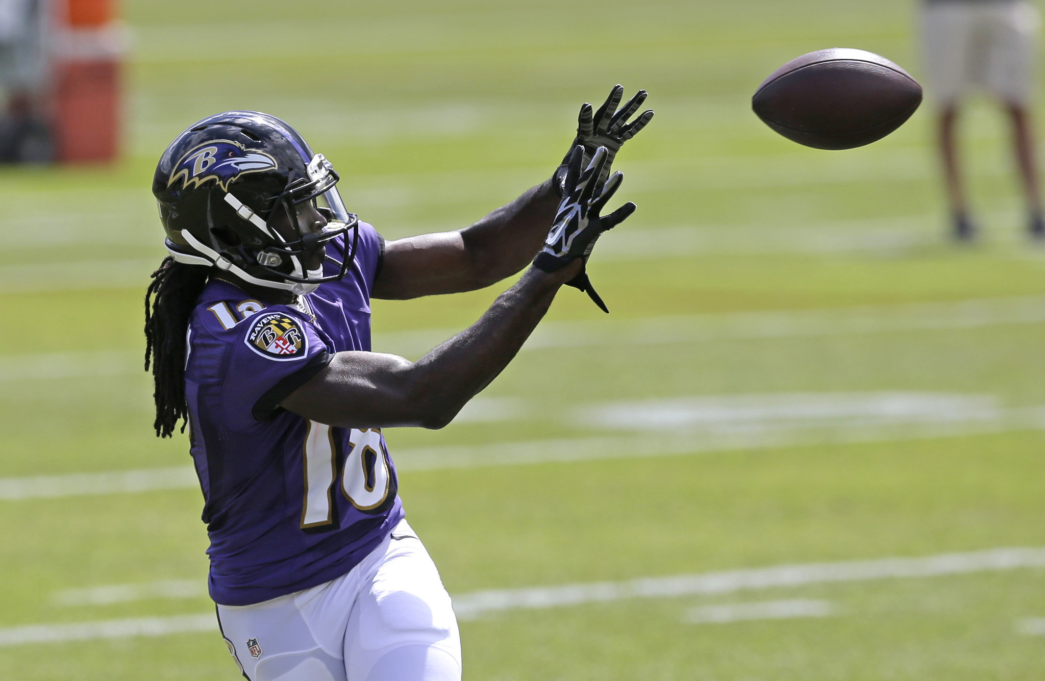 Bal Ravens Rookie Wide Receiver Breshad Perriman Makes No Excuses For Dropped Passes Vows To Improve 20150617